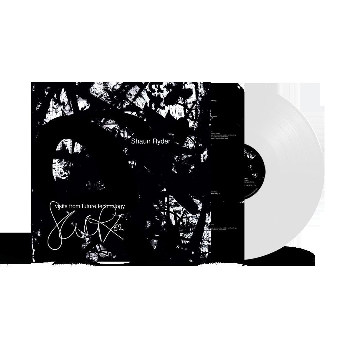 Buy Online Shaun Ryder - Visits From Future Technology White Vinyl