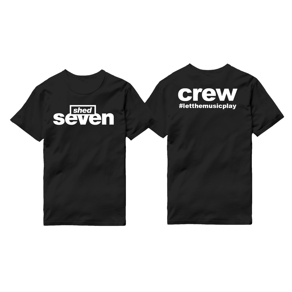 Shed Seven Crew T-Shirt