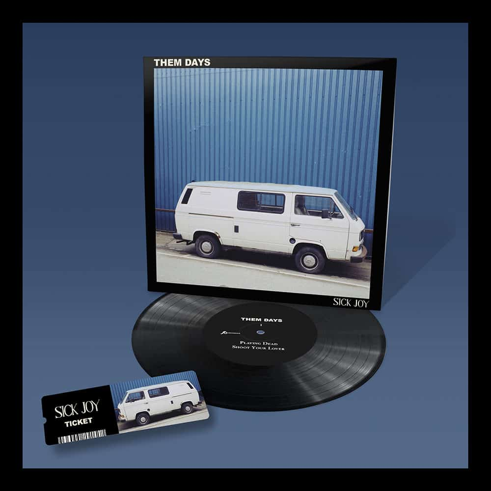 Buy Online Sick Joy - Them Days Vinyl + Ticket + Download Bundle
