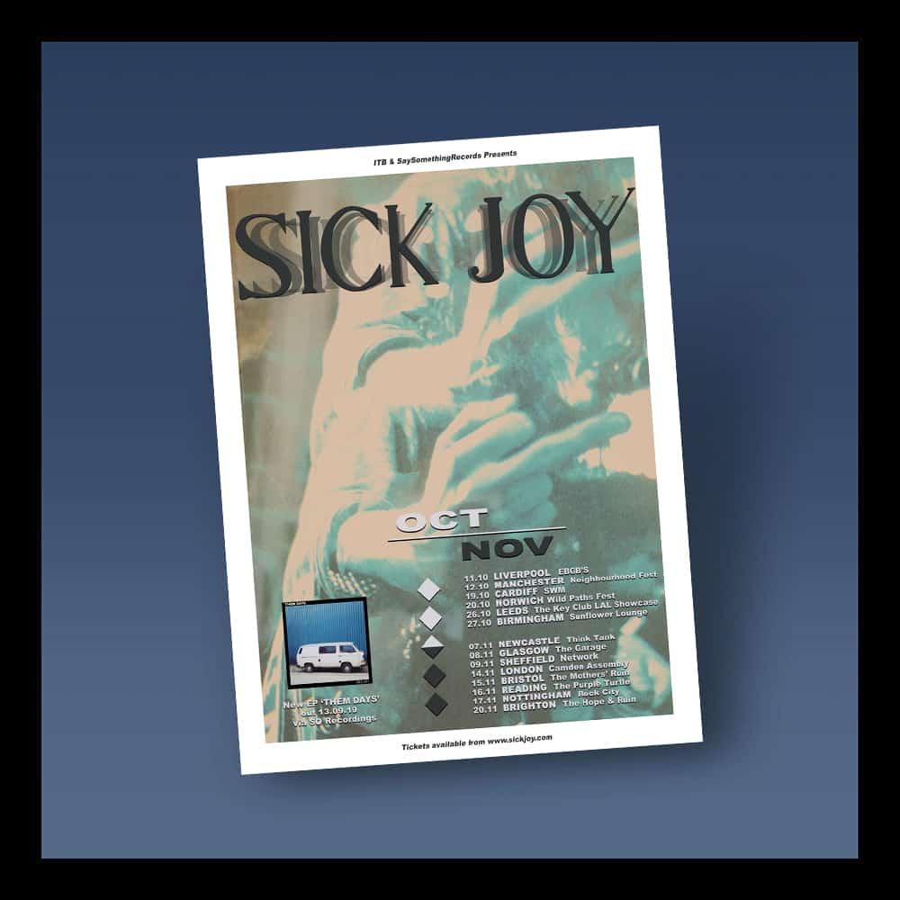 Buy Online Sick Joy - UK Tour Ticket