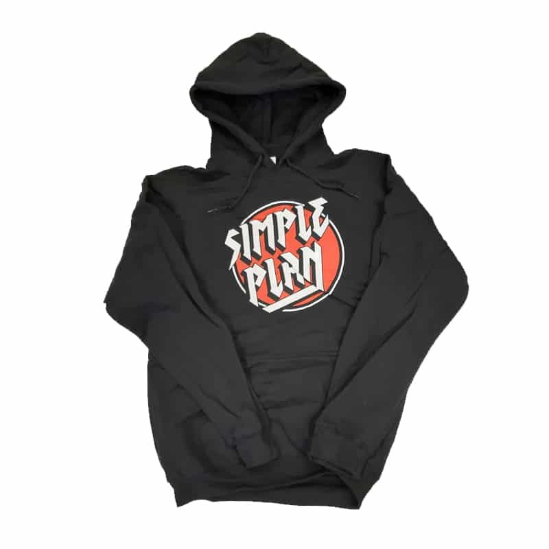 Buy Online Simple Plan - Circle Logo Hoody