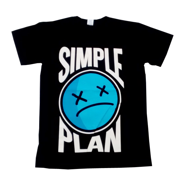 Buy Online Simple Plan - Sad Face Tour T-Shirt
