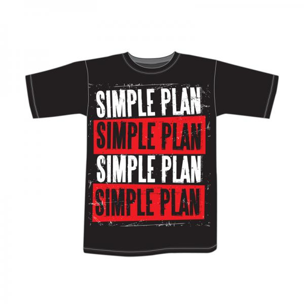 Buy Online Simple Plan - Stacked T-Shirt
