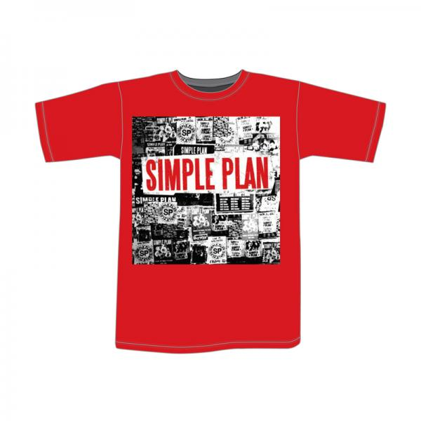 Buy Online Simple Plan - Overload T-Shirt