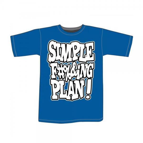 Buy Online Simple Plan - Simple F&*%king Plan T-Shirt
