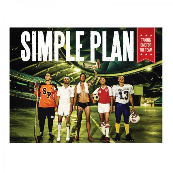 Buy Online Simple Plan - A2 Taking One For The Team Poster