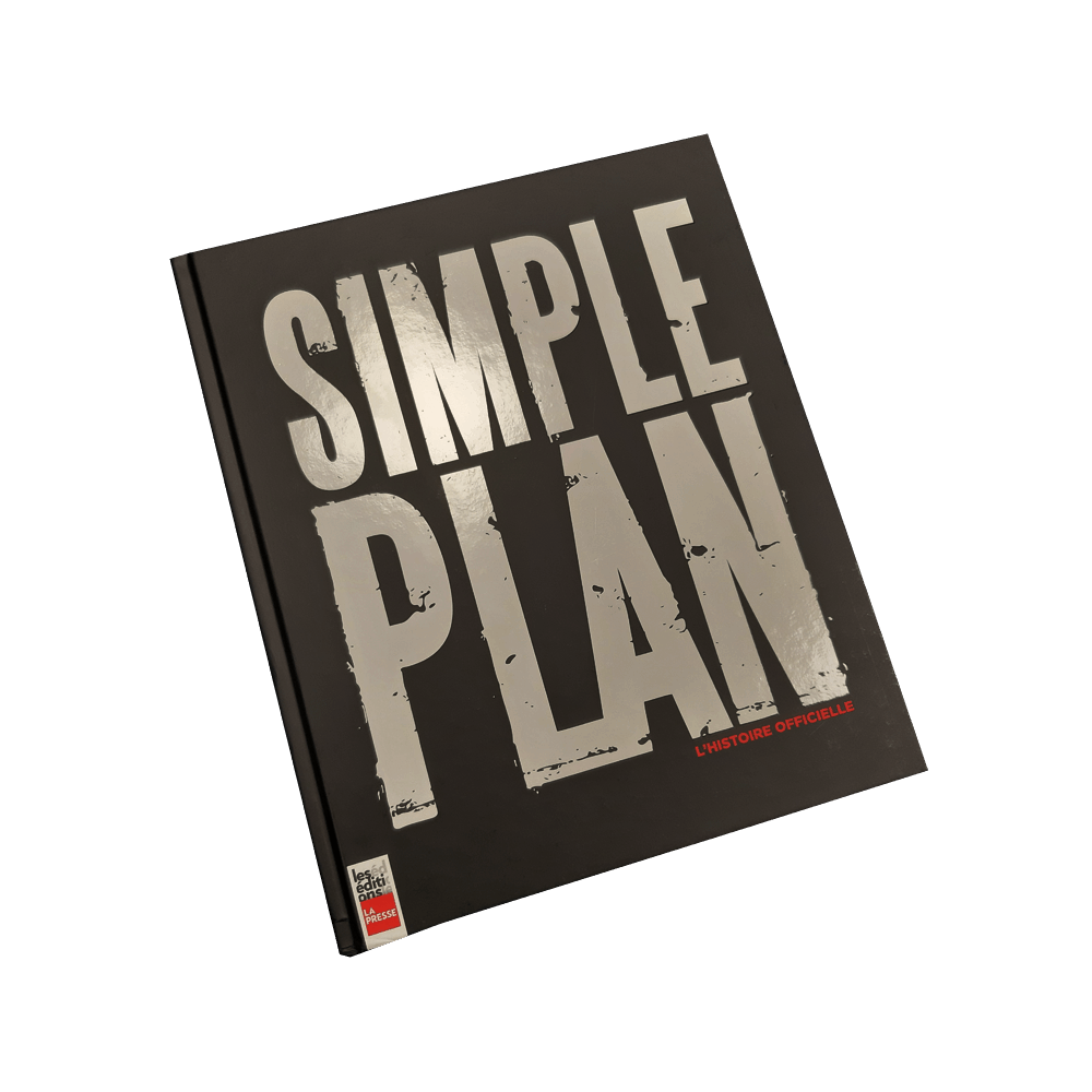Buy Online Simple Plan - L'Histoire Officielle Book