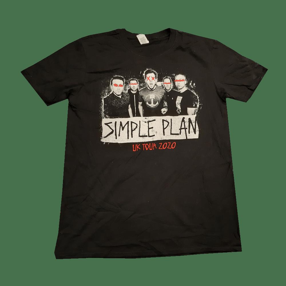 Buy Online Simple Plan - UK Tour 2020 T-Shirt