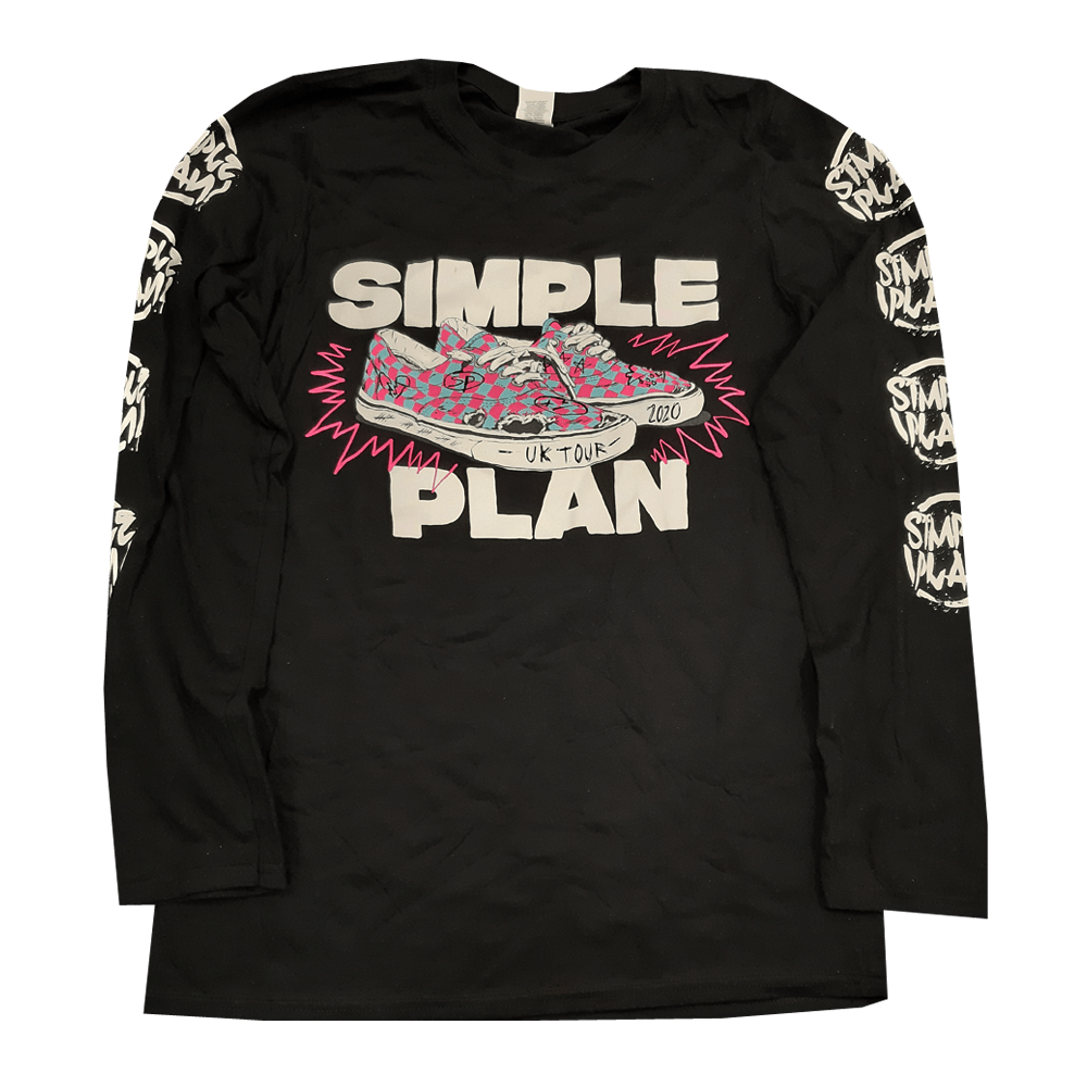 Buy Online Simple Plan - UK Tour Long Sleeve