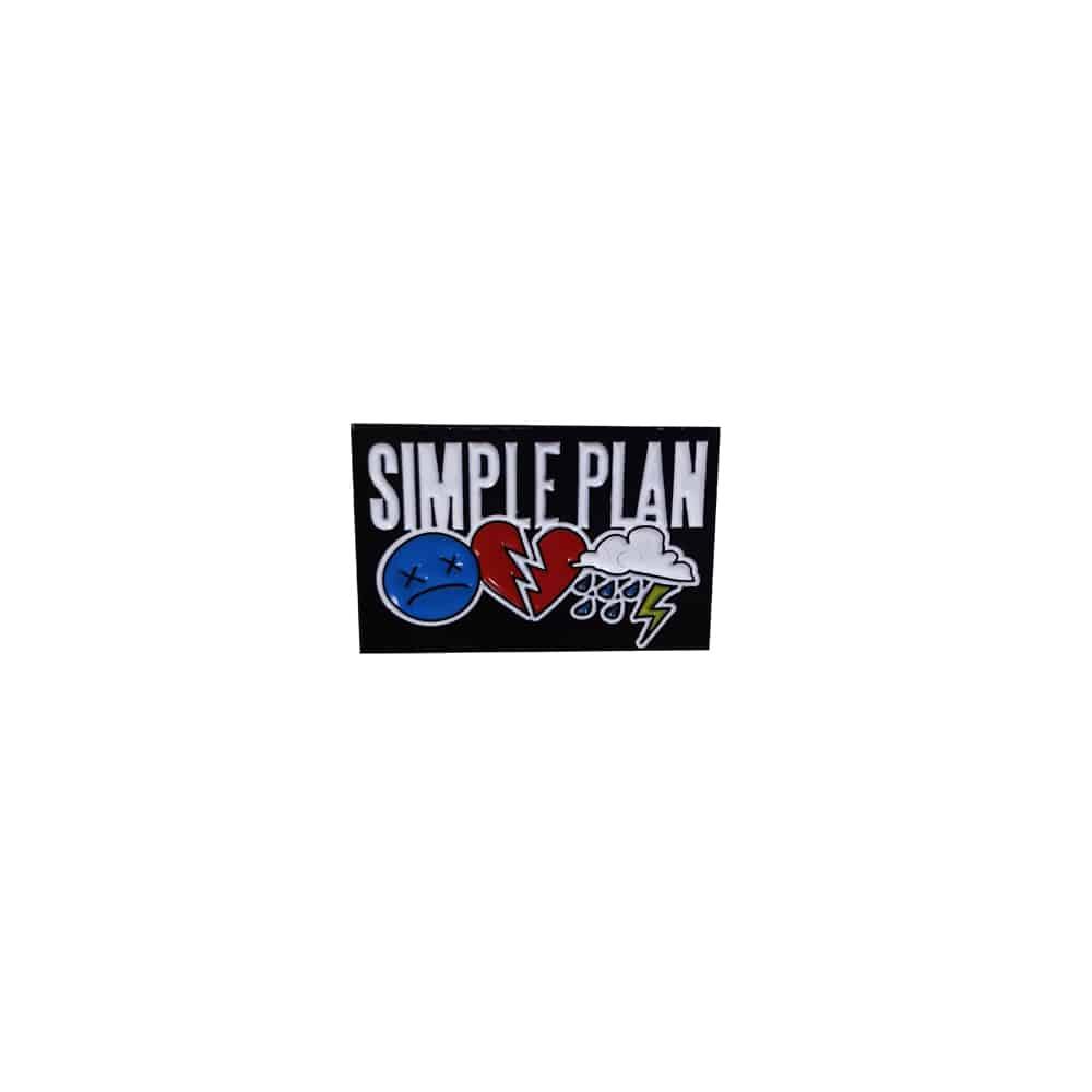 Buy Online Simple Plan - Pin Badge