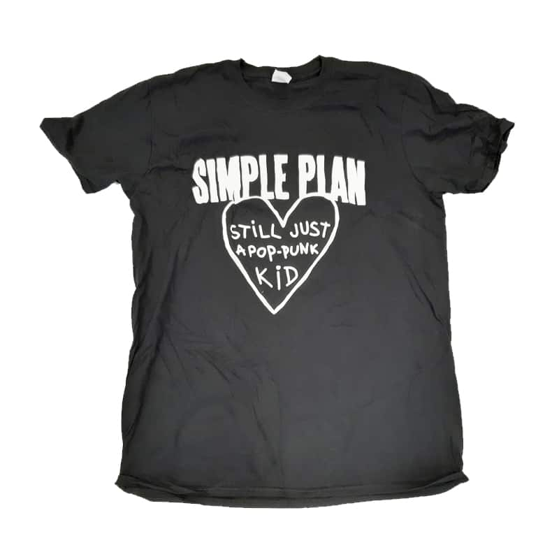 Buy Online Simple Plan - Pop-Punk Kid T-Shirt