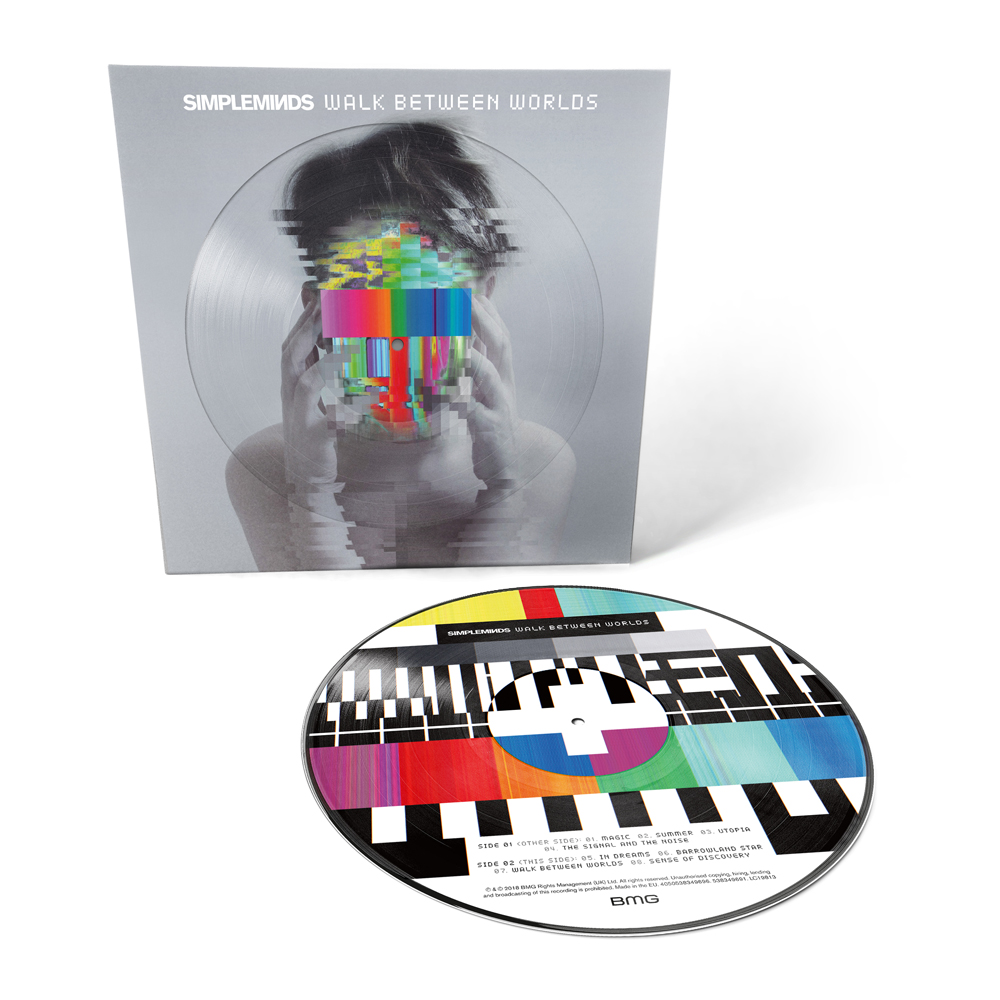 Buy Online Simple Minds - Walk Between Worlds Picture Disc