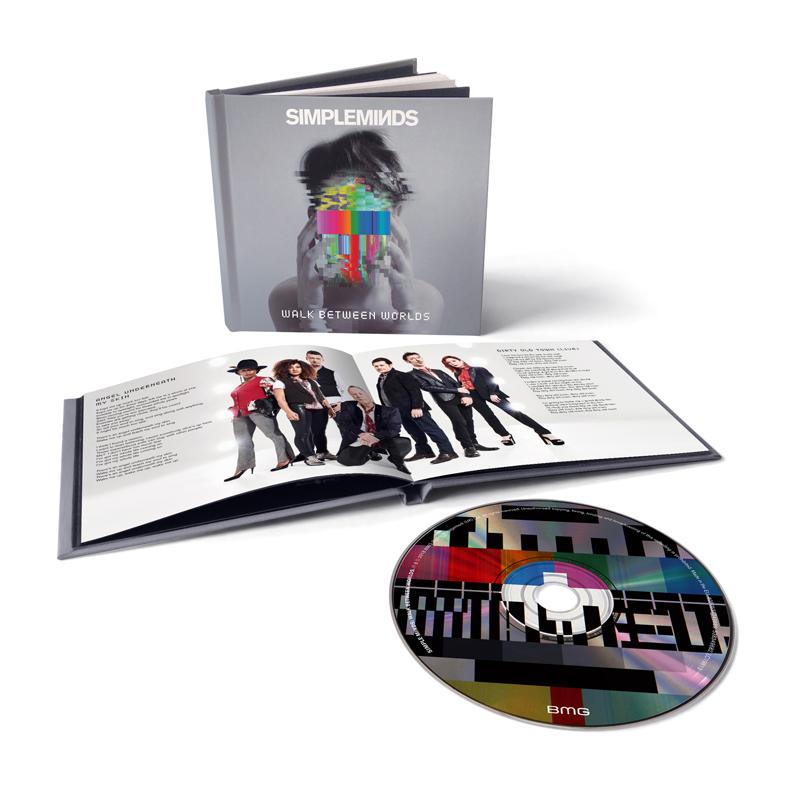 Buy Online Simple Minds - Walk Between Worlds Deluxe Casebound Book CD Album