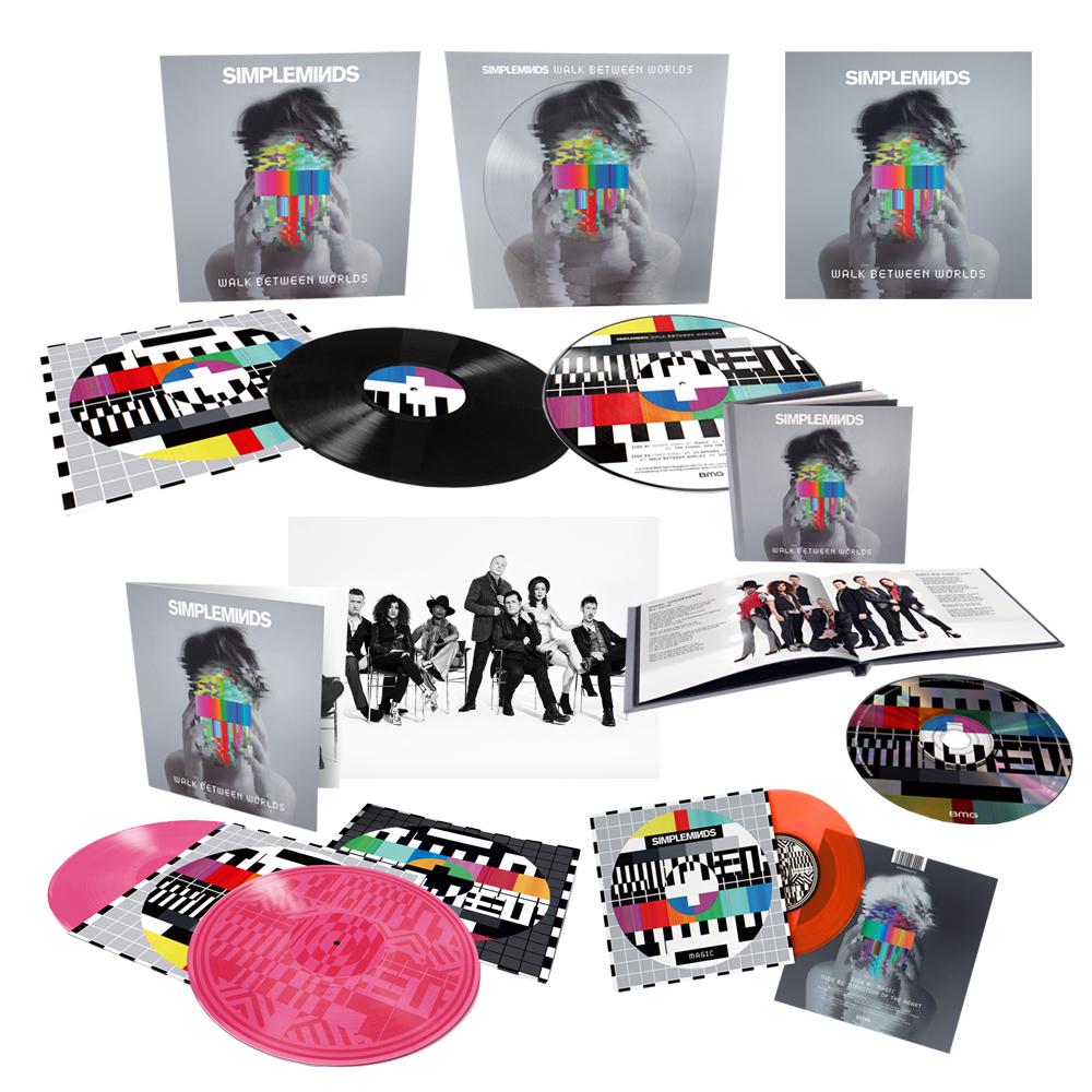 Buy Online Simple Minds - Walk Between Worlds - Walk Between Worlds Super Deluxe Signed Bundle