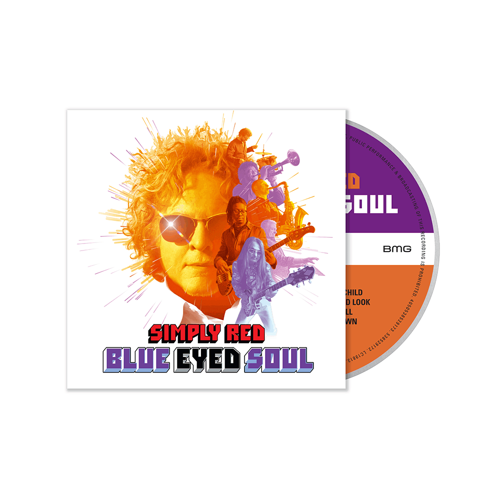 Buy Online Simply Red - Blue Eyed Soul Digipack CD