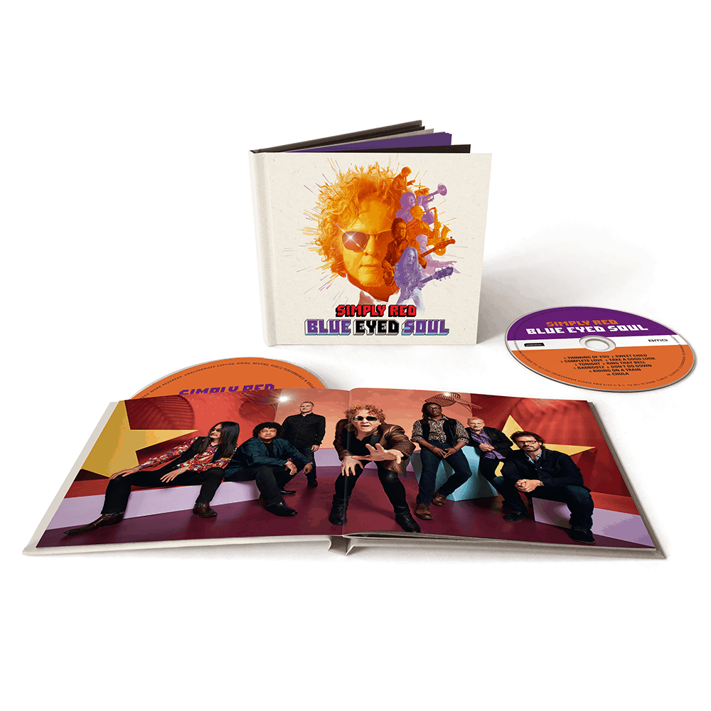 Buy Online Simply Red - Blue Eyed Soul Deluxe Double CD