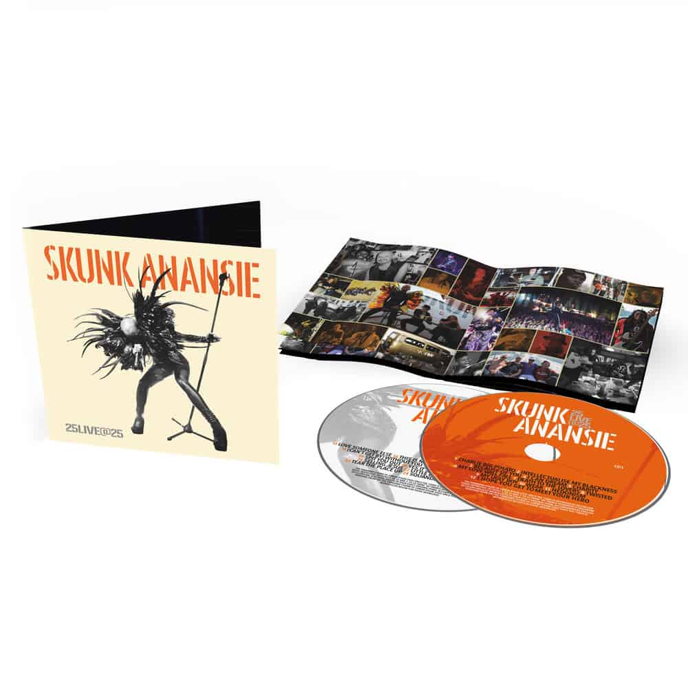 Buy Online Skunk Anansie - 25LIVE@25 2CD Album