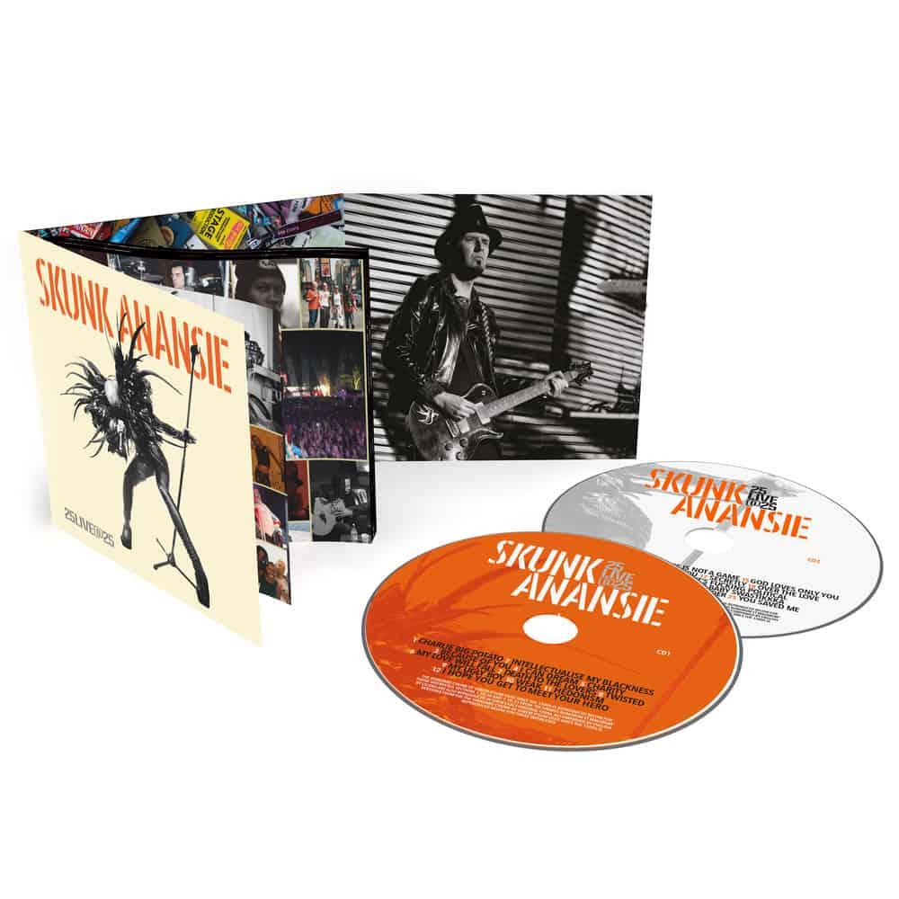 Buy Online Skunk Anansie - 25LIVE@25 Deluxe 2CD Album (Signed)