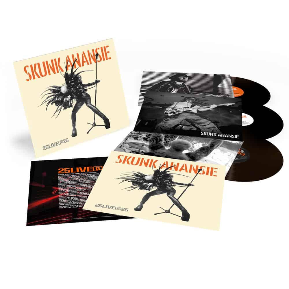 Buy Online Skunk Anansie - 25LIVE@25