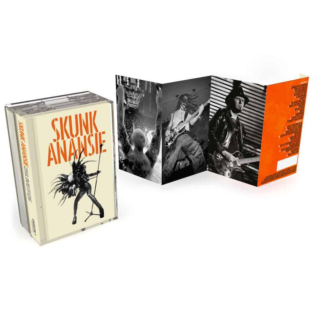 Buy Online Skunk Anansie - 25LIVE@25 Double Cassette