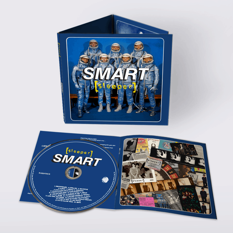 Buy Online Sleeper - Smart CD Album (25th Anniversary Reissue) (Signed)