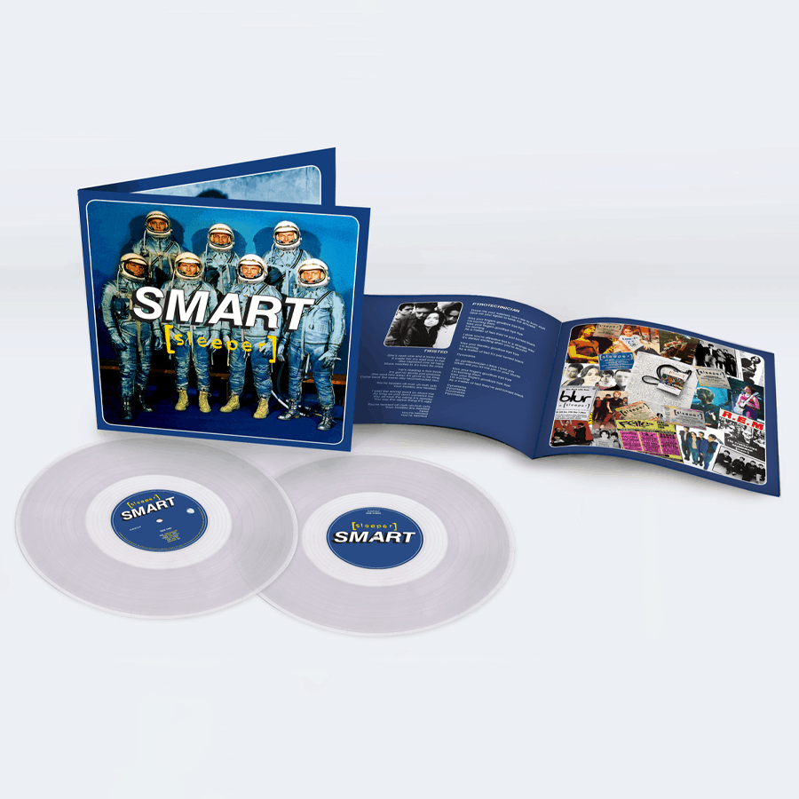 Buy Online Sleeper - Smart (25th Anniversary Reissue) Double Clear Vinyl