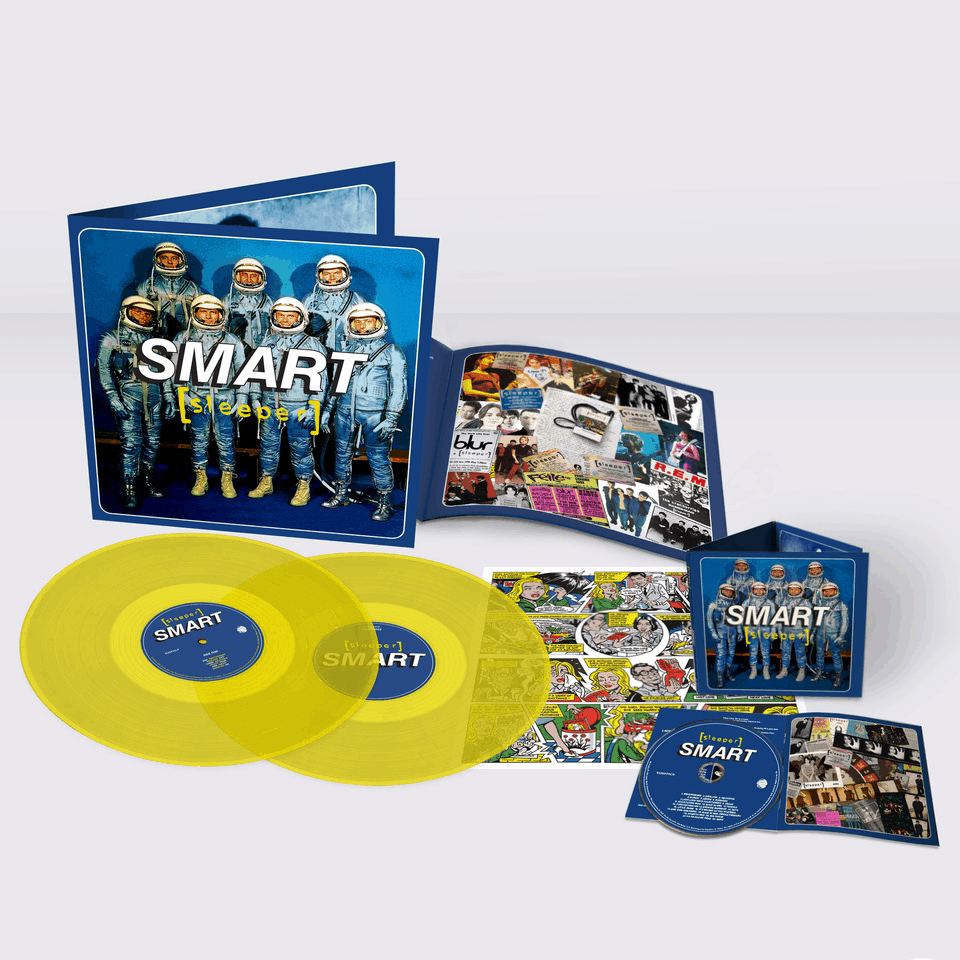 Buy Online Sleeper - Smart (25th Anniversary Reissue) Yellow Double Vinyl (Inc Signed, Numbered Print) + CD (Signed)