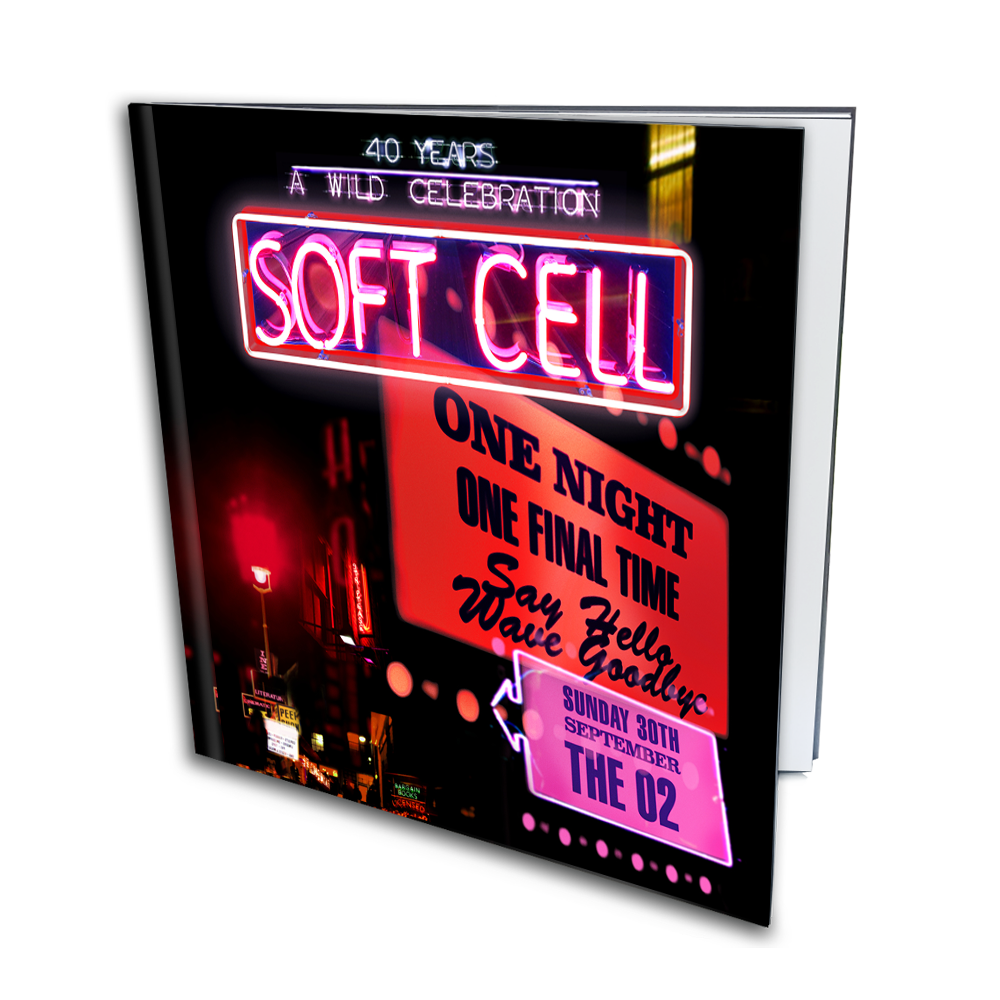 Buy Online Soft Cell - Say Hello, Wave Goodbye: The O2 London Super Deluxe Photobook (Includes Signed Certificate)