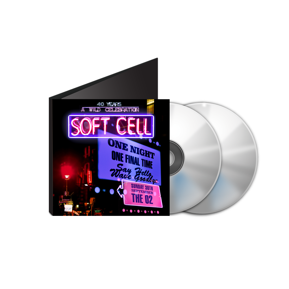 Buy Online Soft Cell - Say Hello, Wave Goodbye: The O2 London DVD & BluRay Double Pack (w/ Download)