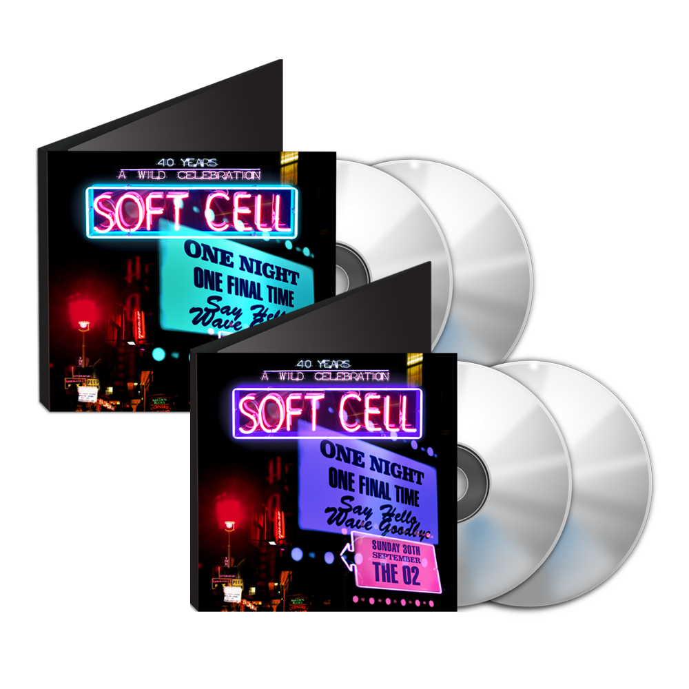 Buy Online Soft Cell - Say Hello, Wave Goodbye: The O2 London 2CD + DVD & BluRay Double Pack (w/ Download) + Free Exclusive Slipcase