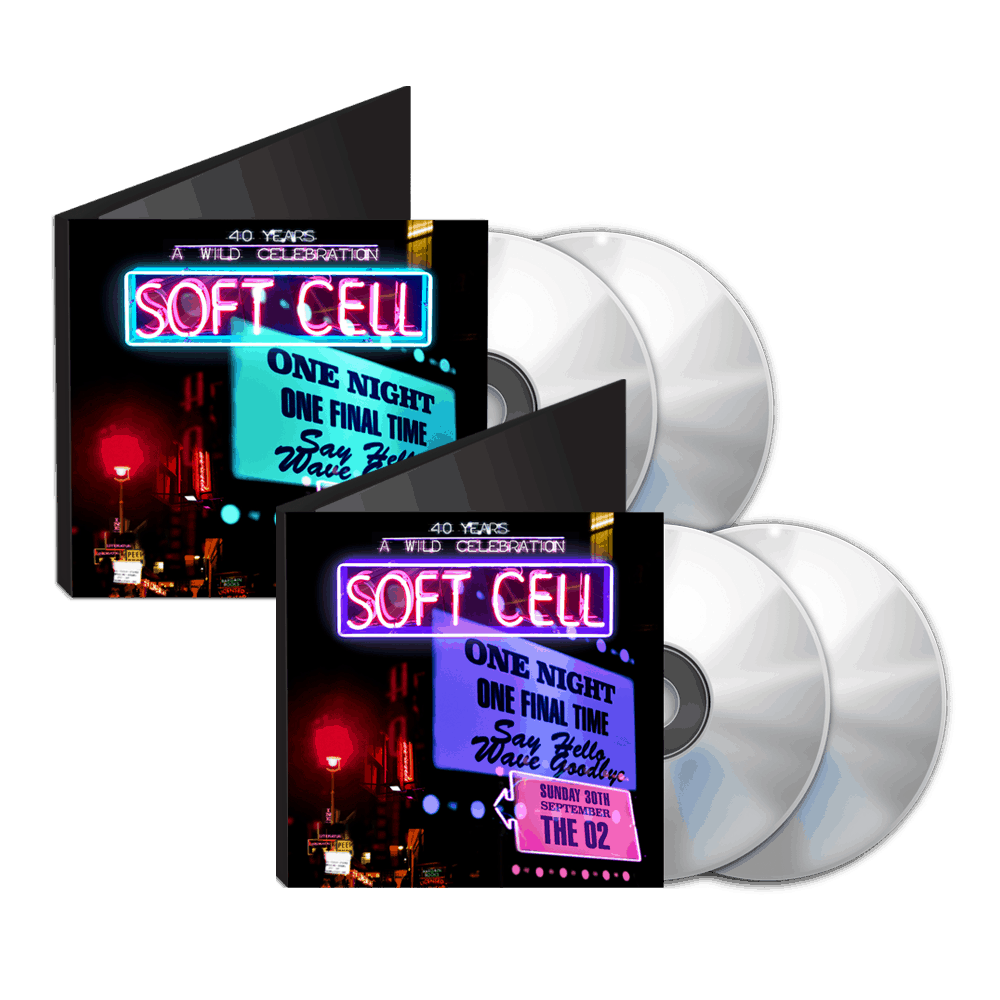 Buy Online Soft Cell - Say Hello, Wave Goodbye: The O2 London 2CD + DVD & BluRay Double Pack (w/ Download) With Free Exclusive Slipcase