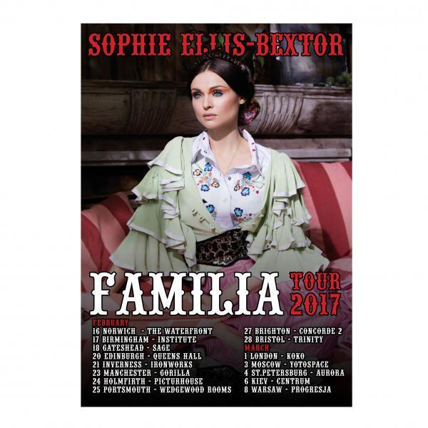 Buy Online Sophie Ellis-Bextor - Familia Tour Poster