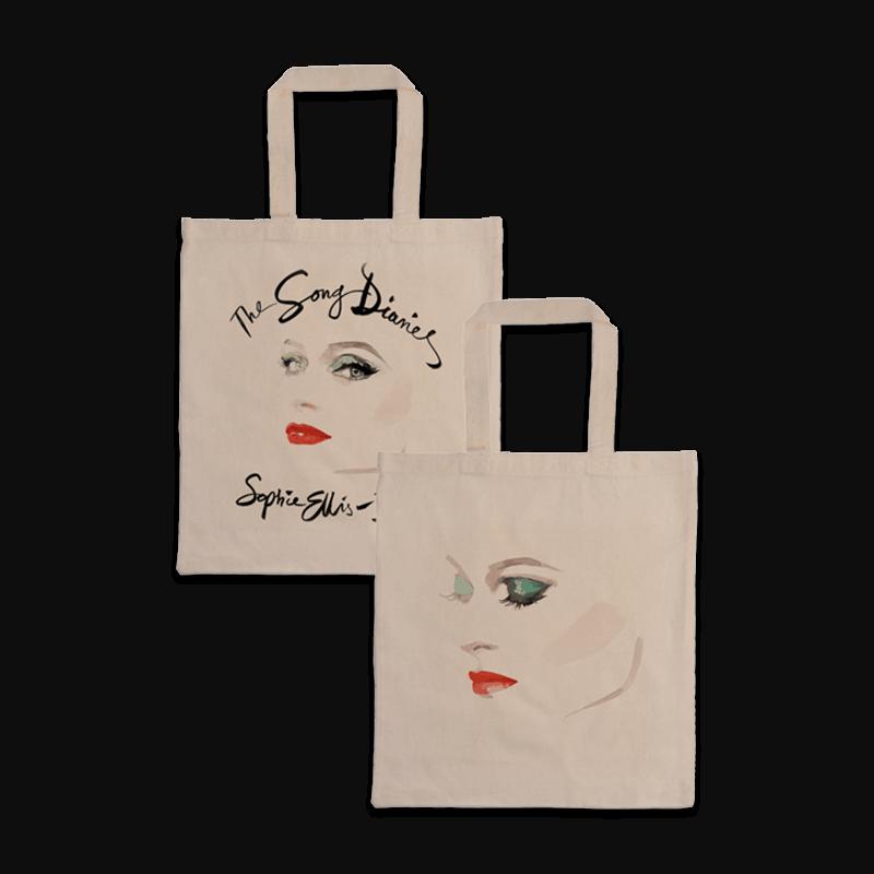 Buy Online Sophie Ellis-Bextor - The Song Diaries - Natural Tote Bag