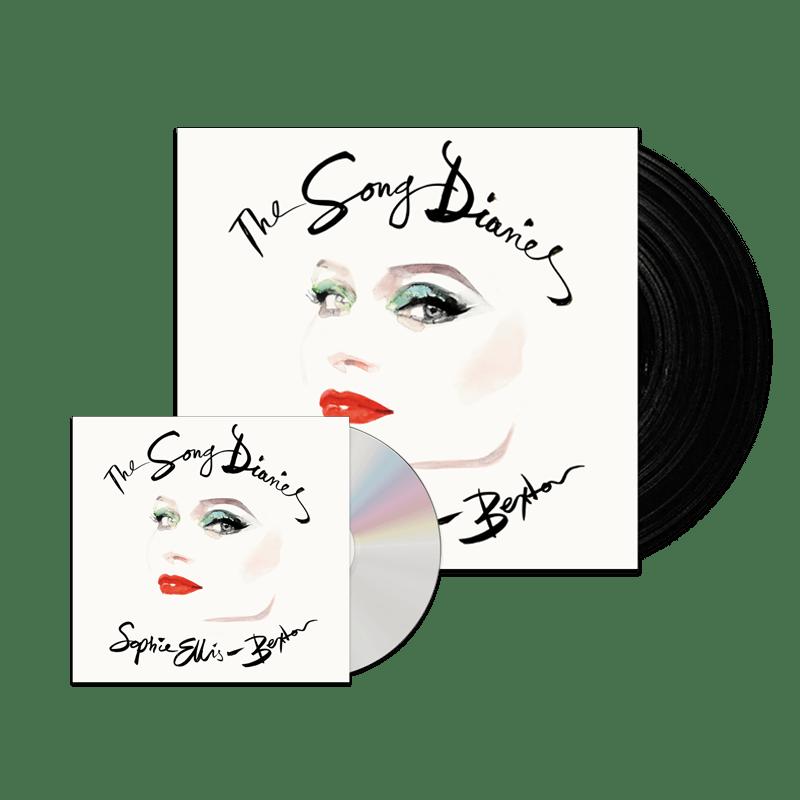 Buy Online Sophie Ellis-Bextor - The Song Diaries Digipack CD + Double Vinyl