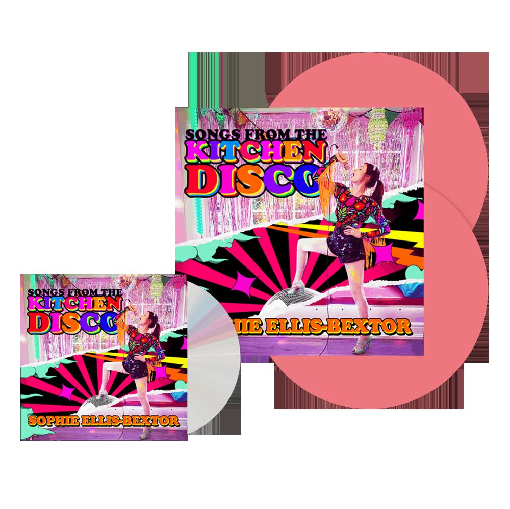 Buy Online Sophie Ellis-Bextor - Songs From The Kitchen Disco Pink Vinyl (Exclusive) + CD