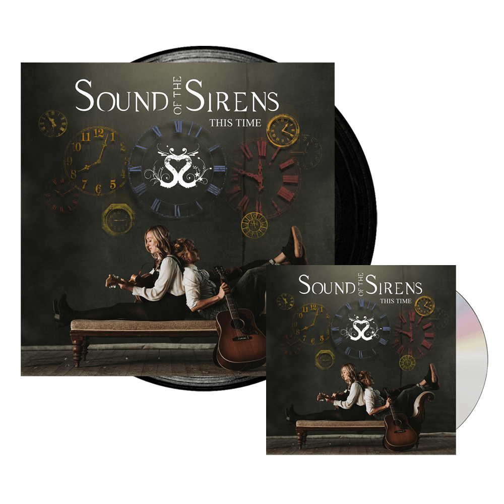 Buy Online Sound Of The Sirens - This Time CD (Signed) + Vinyl LP (Signed)