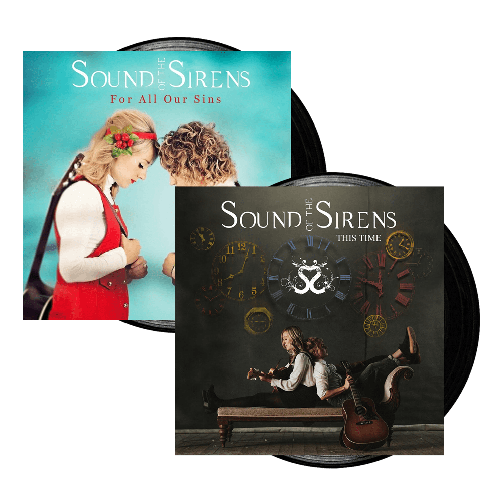 Buy Online Sound Of The Sirens - This Time Vinyl LP (Signed) + For All Our Sins Vinyl LP (Signed)