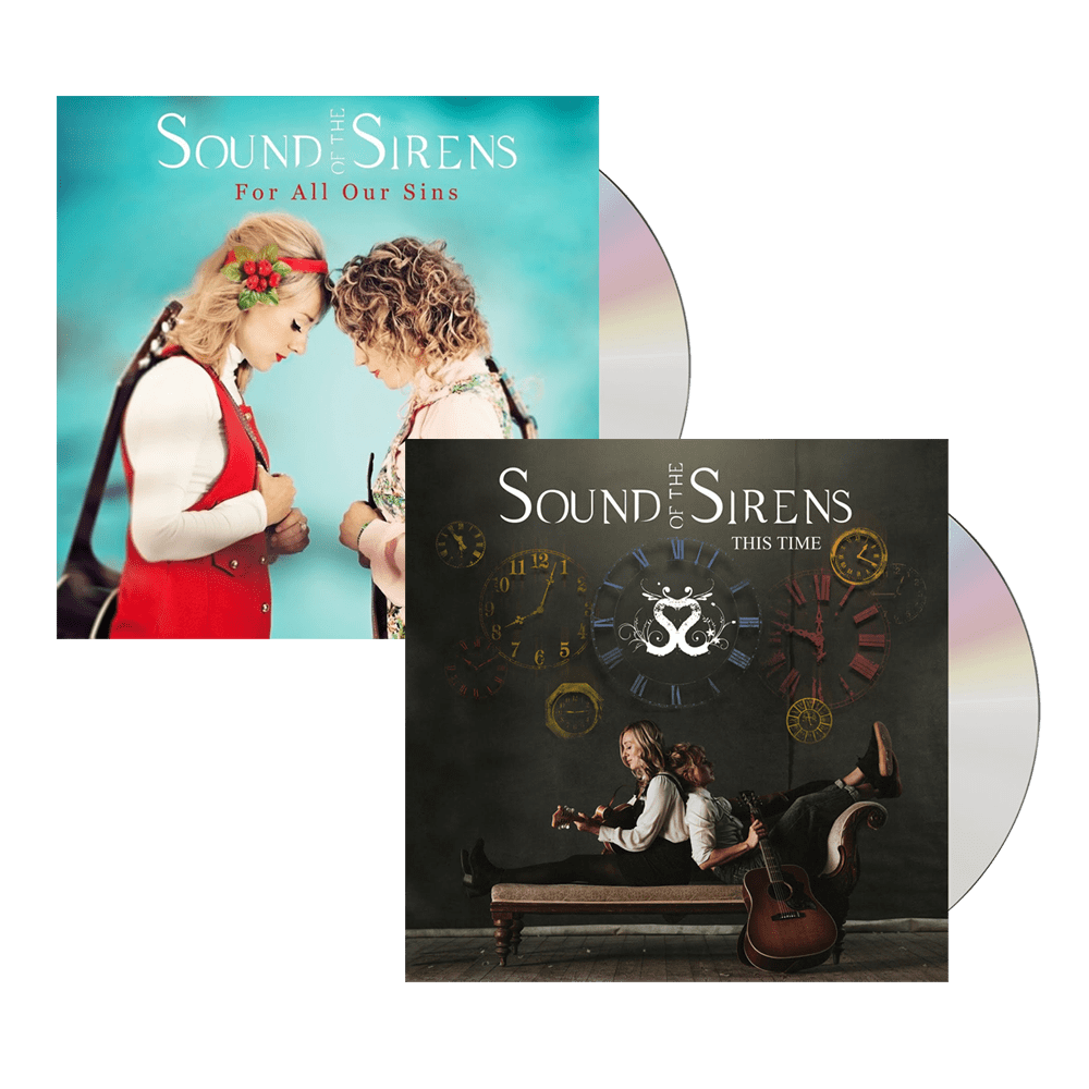 Buy Online Sound Of The Sirens - This Time CD + For All Our Sins CD
