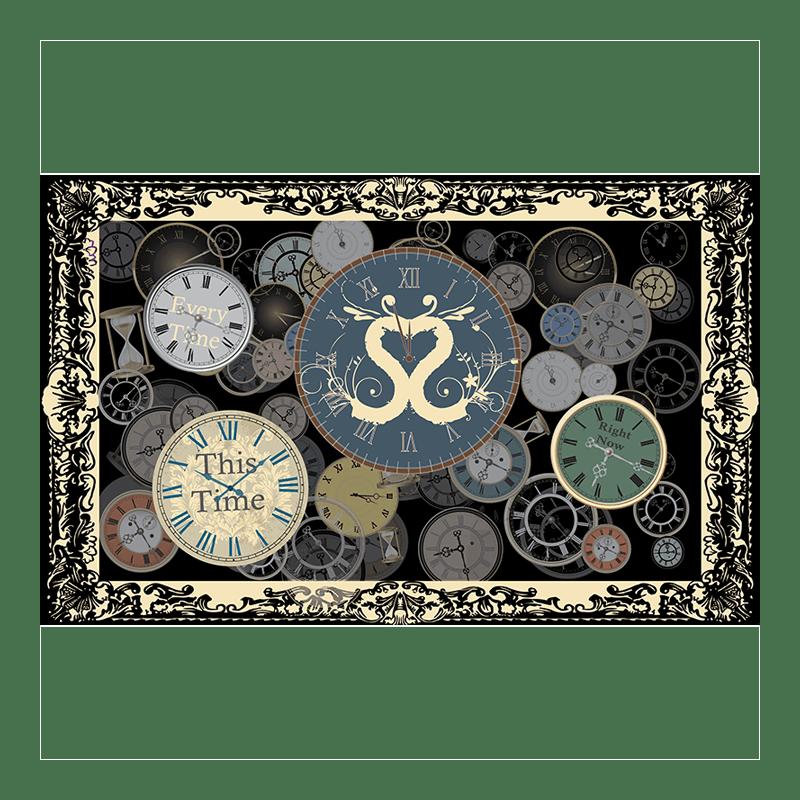 Buy Online Sound Of The Sirens - Clock Tea Towel