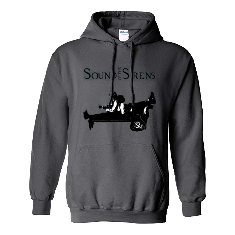 Buy Online Sound Of The Sirens - Grey Silhouette Pullover Hoodie
