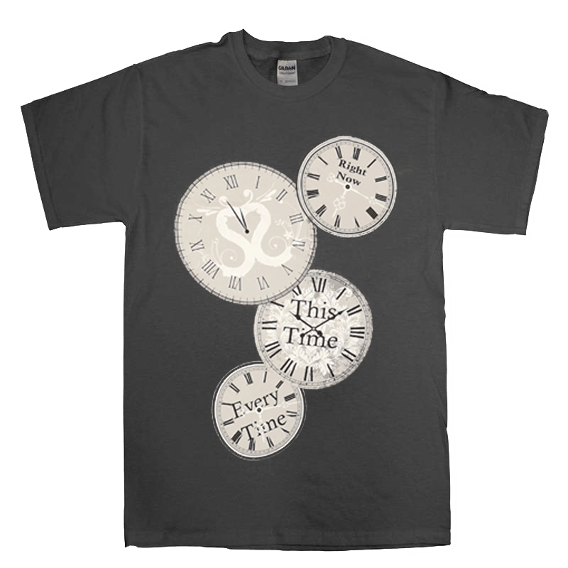 Buy Online Sound Of The Sirens - Clock T-Shirt