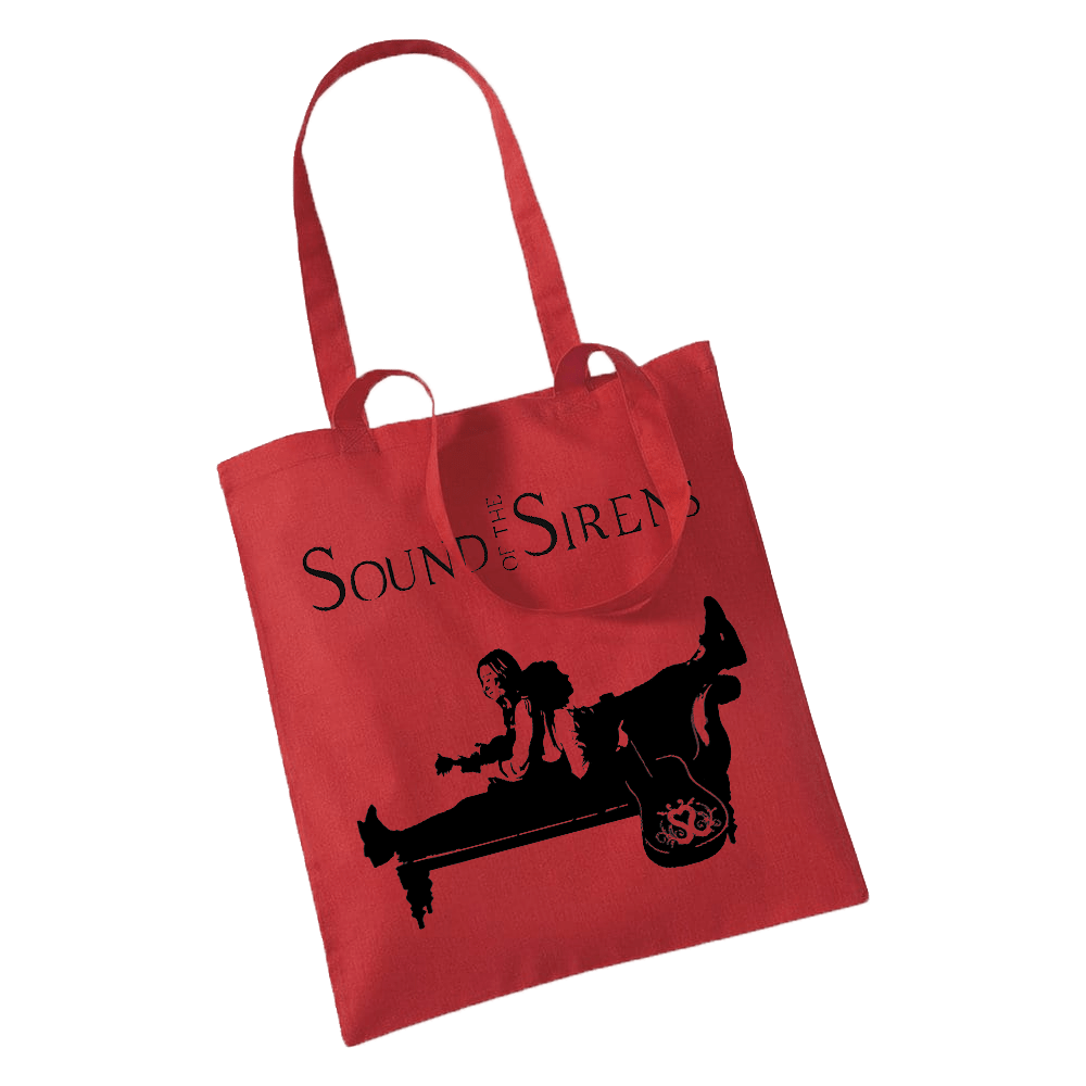Buy Online Sound Of The Sirens - Red Tote Bag