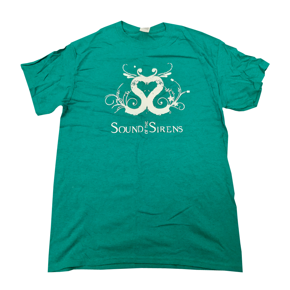 Buy Online Sound Of The Sirens - Teal T-Shirt