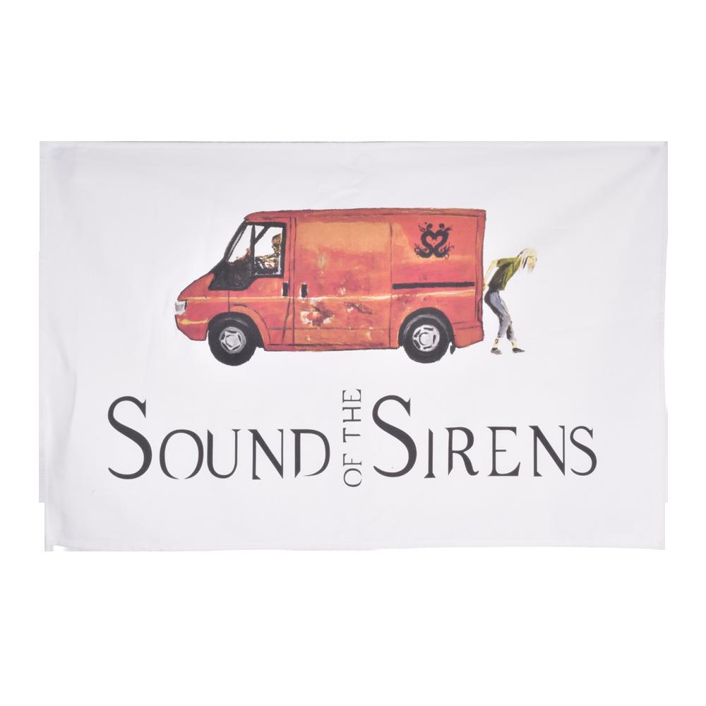 Buy Online Sound Of The Sirens - Roger The Van Tea Towel