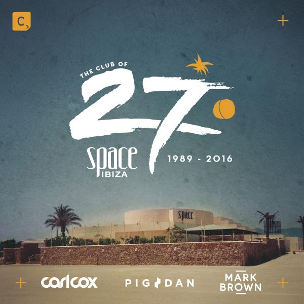 Buy Online Space Ibiza - Space 2016  Mixed by Carl Cox, Pig&Dan & Mark Brown