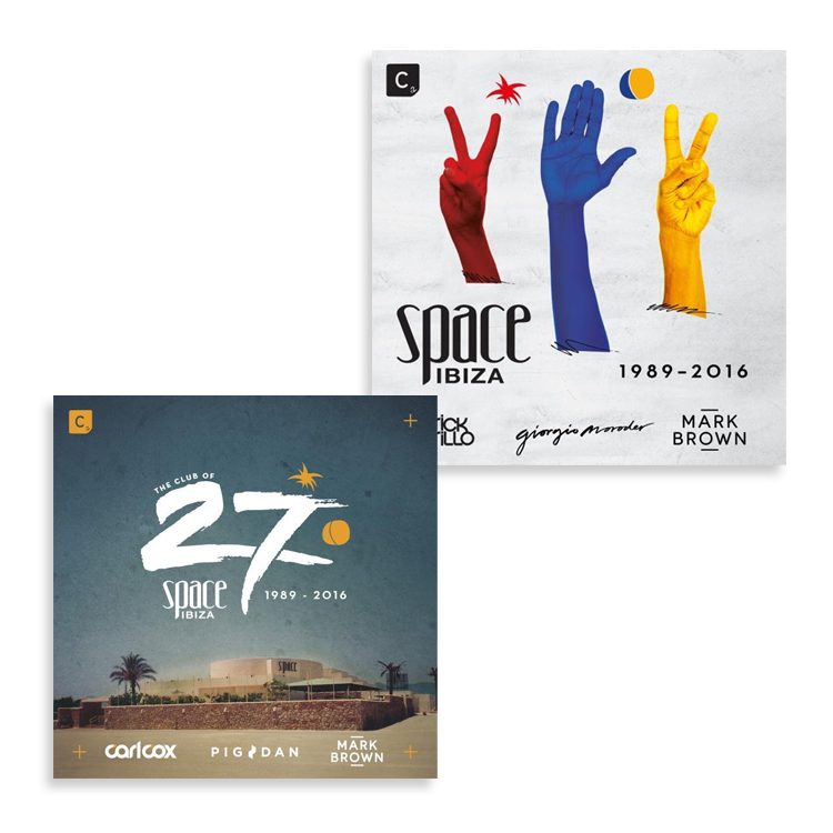 Buy Online Space Ibiza - 1989-2016 3CD Album + Space 2016 3CD Album