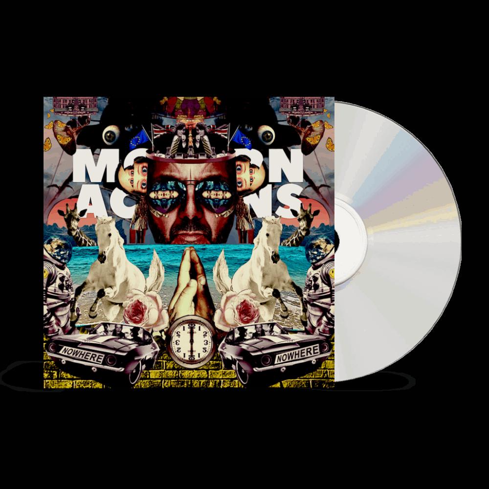 Buy Online Space Monkeys - Modern Actions CD