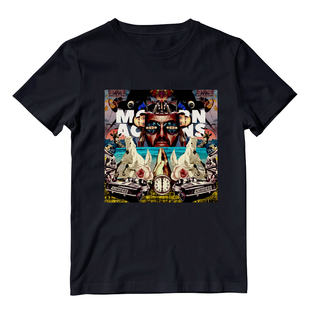 Buy Online Space Monkeys - Black Album T-Shirt
