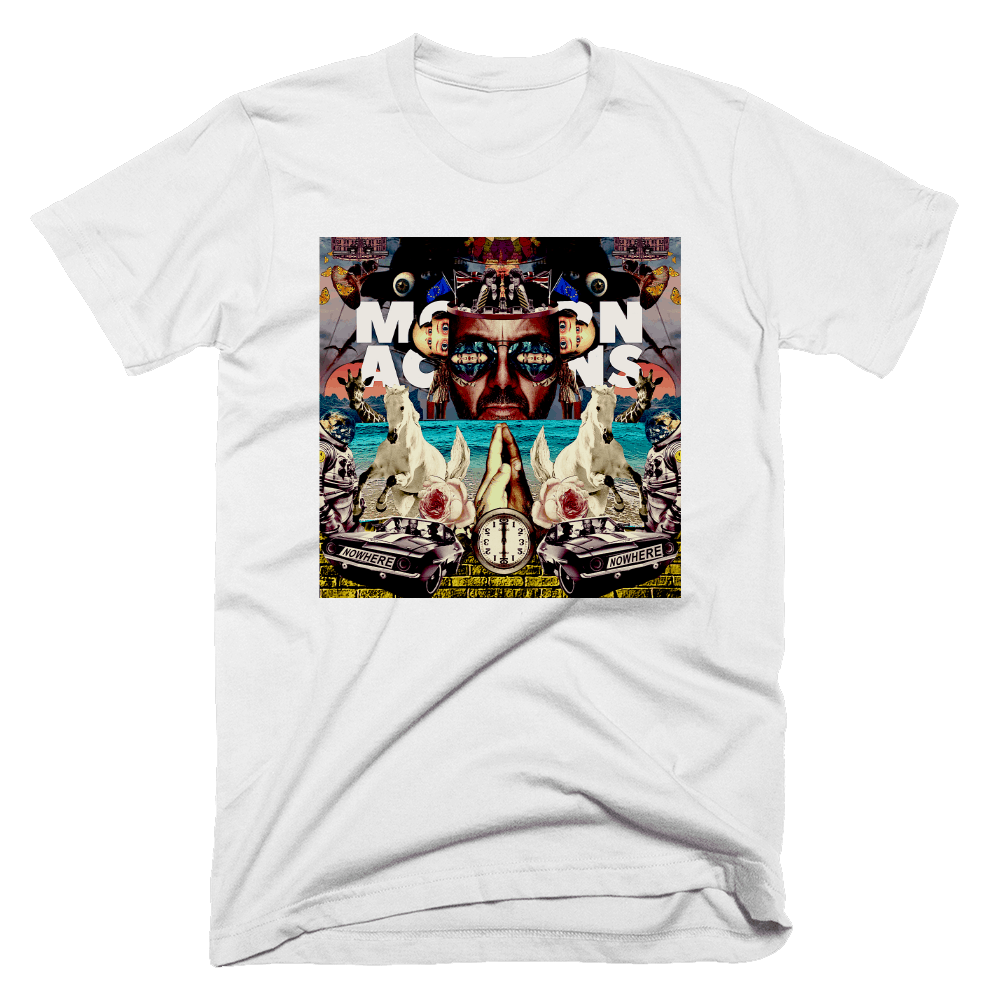 Buy Online Space Monkeys - White Album T-Shirt