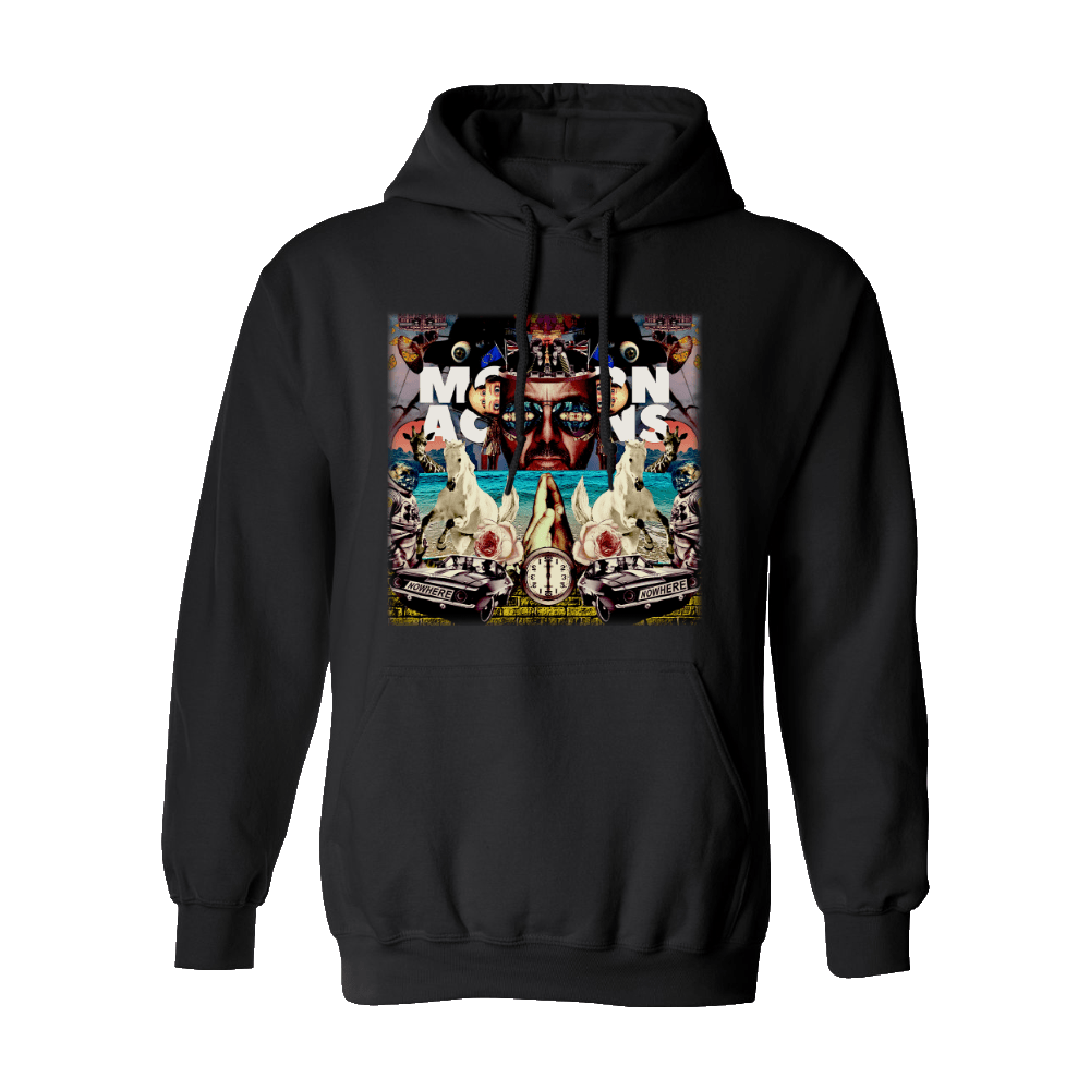 Buy Online Space Monkeys - Black Album Hoodie